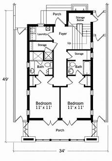 southern living beach house plans waterfront villa 2nd floor plan southern living house