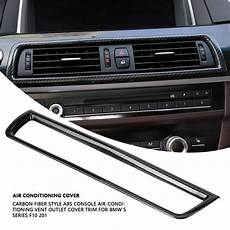 auto air conditioning repair 1996 bmw 8 series transmission control carbon fiber style console air conditioning vent outlet cover trim for bmw 5 series f1 2013 2014