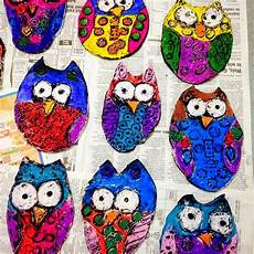 owl lesson plans 2nd grade what s happening in the art room 1st grade clay owls