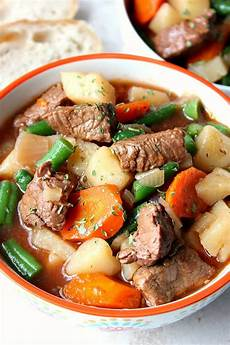 slow cooker beef stew recipe crunchy creamy sweet