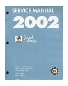 service and repair manuals 2011 buick regal auto manual 2002 buick regal century factory service manual 3 vol set