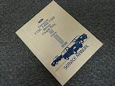 service and repair manuals 1991 ford f series seat position control 1992 ford f series f150 f250 f350 pickup truck engine shop service repair manual ebay