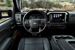 Chevrolet 2020 Chevy 2500HD Interior Colors And Features