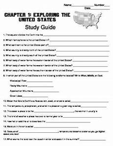 harcourt social studies states regions chapter 01 study guide grade 4 4th grade social