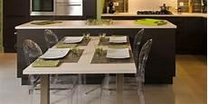 table ilot de cuisine ilot central table escamotable cuisine