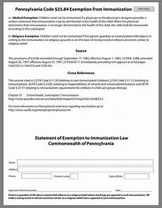 vaccine exemption form