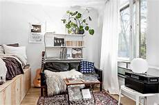 Tiny Dreamy Studio Apartment With A Raised Bed Daily