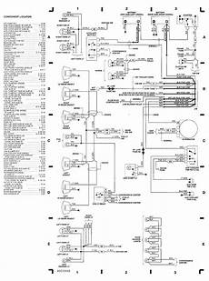 Engine Compartment Wiring Diagram 1991 Chevrolet 1500