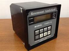 rosemount analytical controller total free chlorine analyzer model 1054 a ebay
