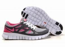 nike free run 2 womens running shoes grey pink white uk shop