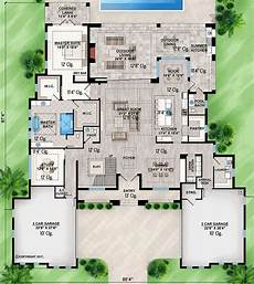 lanai house plans sophisticated florida home plan with spacious covered