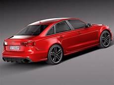 Audi Rs6 Sedan 2015 3d Model Max Obj 3ds Fbx C4d Lwo Lw