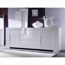 Buffet Bahut Blanc Laqu 233 Design Laila Pas Cher Meubles Thiry