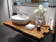 badezimmer holz waschtisch waschtisch holzbalken in 2019 badezimmer badezimmer