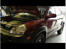 2008 Hyundai Tucson 2.7L Oil Change   YouTube