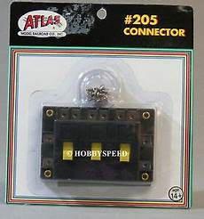 ho track switch wiring atlas ho connector switch power to track section accessories wiring atl205 new 732573002050 ebay