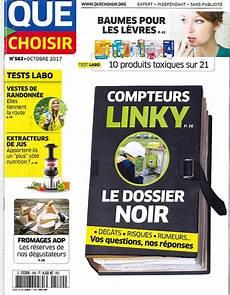 Que Choisir N 176 562 Compteurs Linky Le Dossier Noir