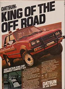 1982 Datsun King Cab Truck Ad 1 Nissan Trucks