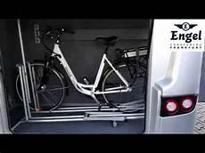 Fahrradständer Für Garage by Fahrradhalter F 252 R Die Reisemobilgarage Ganz Ohne Schrauben