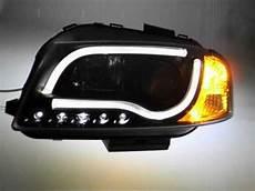 sw ltube scheinwerfer audi a3 8p black led lighttube sw