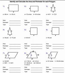 areas and perimeters of polygons interactive worksheet