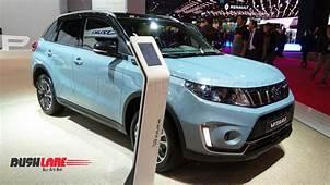 Suzuki Vitara SUV Debuts In Paris  Maruti Could Launch