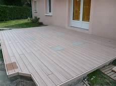 prix pose terrasse composite prix pose terrasse composite sur dalle beton mailleraye