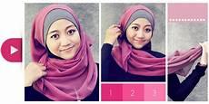 Cara Memakai Jilbab Segiempat Simple Dan Modis