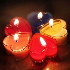 candele a cuore 10pc set shaped candles courtship courtship