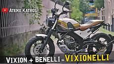 Custom Vixion by Modifikasi Vixion Leonchino Garage Vlog