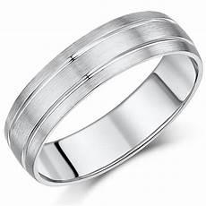 6mm palladium double grooved wedding ring band palladium 950 at elma uk jewellery