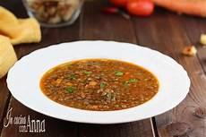 lenticchie a bagno zuppa di lenticchie economica sostanziosa saporita
