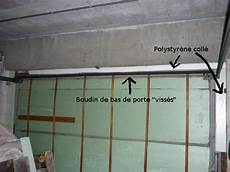 ponts thermiques au garage optimisation d une porte et