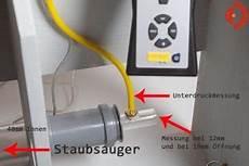 Staubsauger Saugleistung Tabelle - saugleistung messen druck str 246 mung und airwatt