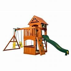aire de jeux avec toboggan aire de jeux en bois avec plateforme et toboggan atlantic dimensions du colis h 285 1 x l 551