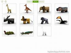 Foldify Zoo Papercraft Best Crafting Apps For