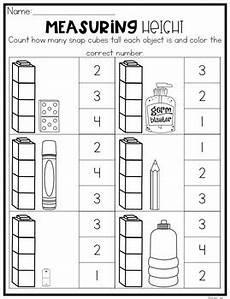 measurement worksheets for kindergarten 1349 nonstandard measurement worksheets by natalie kindergarten tpt