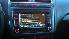 vw polo 6r mit rns 510 original hibrid tv tuner bluetooth