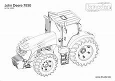 Bruder Ausmalbilder Landwirtschaft Deere Tractor Coloring Pages Sketch Coloring Page