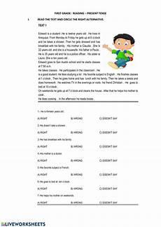 reading comprehension worksheets for beginners 19203 reading beginners reading comprehension worksheet