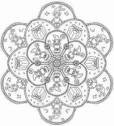 say goodbye to stress by coloring mandalas
