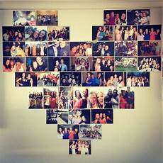 photo collage uni wall res hearts