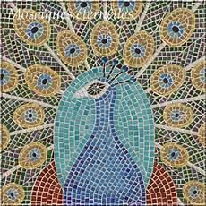 Tableau En Mosaique Paon