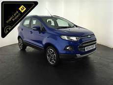 2015 Ford Ecosport Titanium X Pack 1 Owner Service History