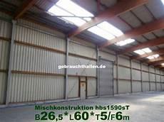lagerhalle 26x60x6m viehstall holz stahl halle aus r 252 ckbau