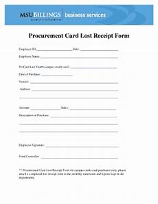 lost receipt template lost receipt form fill printable fillable