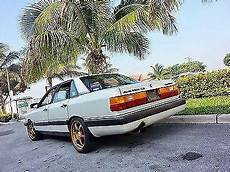 security system 1986 audi 5000s transmission control 1986 audi 5000 cs quattro 5 cylinder turbo 5 spd manual for sale in miami florida classified