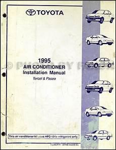 auto air conditioning repair 1995 toyota tercel instrument cluster 1995 toyota tercel and paseo air conditioner installation manual original
