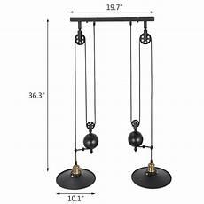 Pendelleuchte Esstisch Höhenverstellbar - industrie h 246 henverstellbar pendelleuchte esstisch design