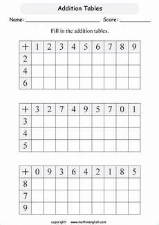 addition sum up to 20 printable grade 1 math worksheet
